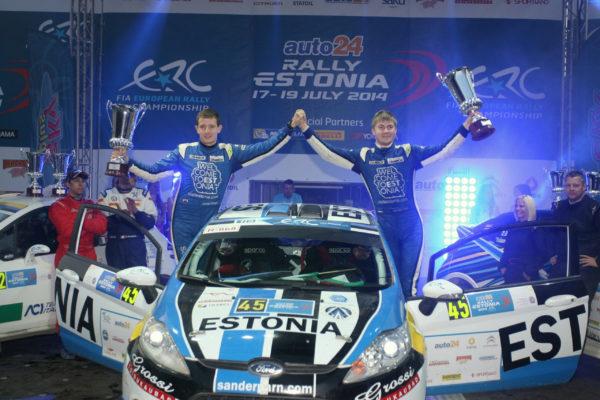 CRC Rally Team - Sander Pärn & James Morgan